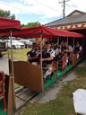 Performing on the miniature railway